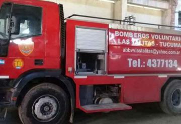 Ladrones dejan sin una autobomba a los bomberos de Las Talitas
