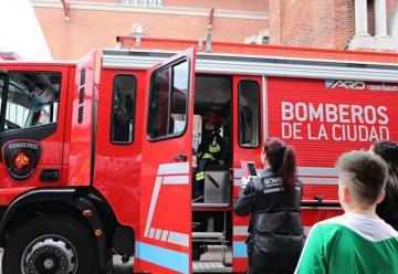 Bomberos de la Ciudad participaron de Conectados BA