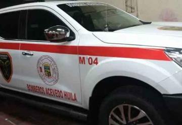 Entregan dotación a bomberos voluntarios de Acevedo