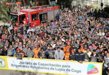 Luján de Cuyo cuenta con el primer Cuerpo de Brigadistas Voluntarios