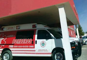 Despoja Hospital Comunitario a los Bomberos de ambulancia