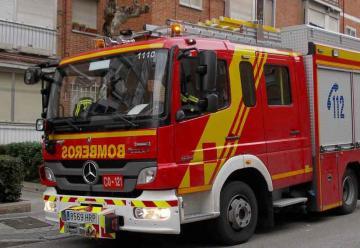 Manifestación por la situación de los Bomberos de Madrid