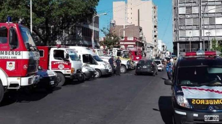 """El gobierno afirma que Bomberos Voluntarios """"rompió el diálogo"""""""