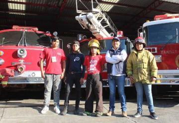Bomberos de Uruapan comienzan colecta anual