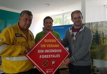Bomberos continúan las capacitaciones contra incendios