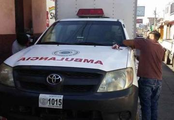 Bomberos Voluntarios de Amatitlán se quedan sin ambulancia
