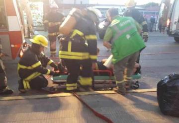 Simulacro de emergencia y evacuación en Berisso