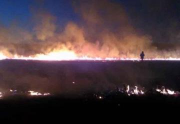 Dos bomberos con traumatismos leves tras choque en cadena