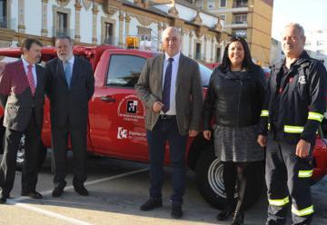 Consorcio adquiere cuatro nuevos vehículos de bomberos