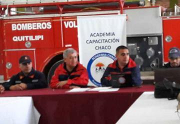 La Academia aprobó manuales de estudios para futuros bomberos