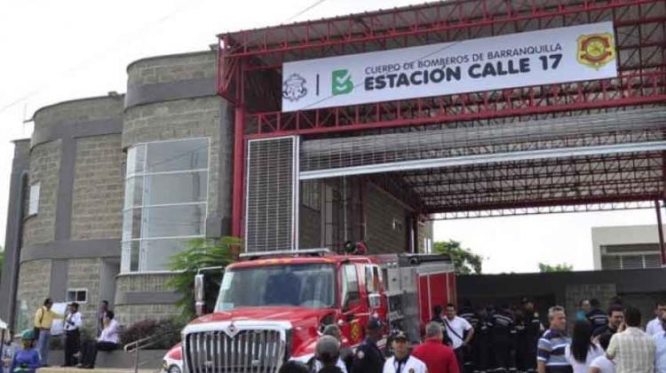 Barranquilla cuenta con una nueva estación de Bomberos