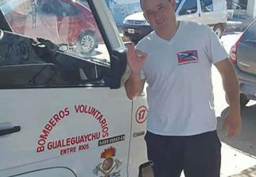 Bomberos de Gualeguaychú cuenta con su primer buzo táctico