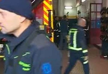 Bomberos toman el centro de Madrid para pedir más efectivos