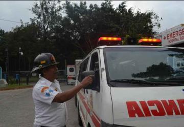Delincuentes disparan contra Bomberos en Villa Nueva