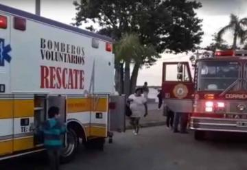 Presentaron nuevas autobombas de Bomberos Voluntarios