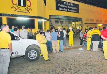 Denuncia de estafa contra directivos de Bomberos Voluntarios del Paraguay