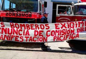 Por diferencias renunciaron los bomberos que cumplían funciones