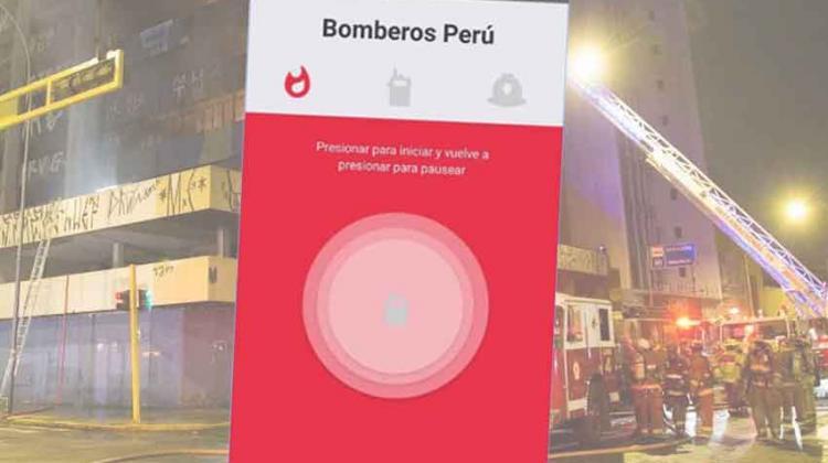 Crean app que permite a los bomberos llegar más rápido a emergencias