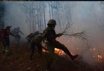 Investigan a voluntarios por el incendio en el Tunari
