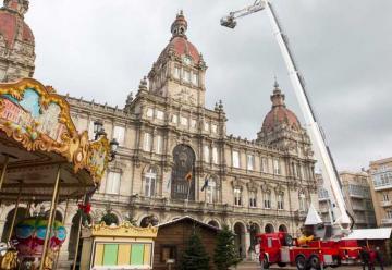 Bomberos de A Coruña han incorporado un nuevo camión
