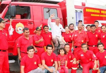 Bomberos de Chulucanas cuenta con nueva cisterna contraincendios