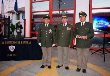 50° Aniversario del Cuerpo de Bomberos de Romeral