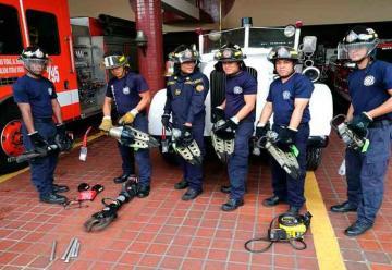 Bomberos adquiere nuevos equipos de rescate