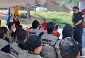 Bomberos de Guayaquil tienen una brigada de psicólogos
