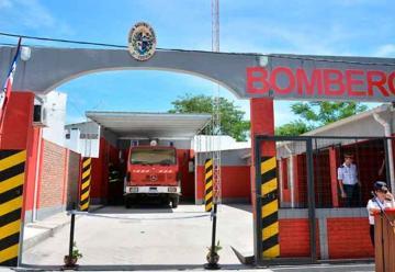 Se inauguró destacamento de Bomberos en Guichón