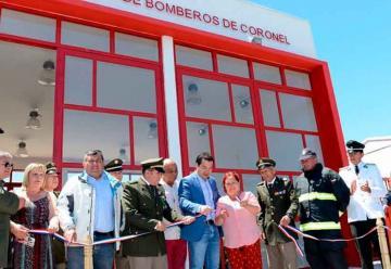 Inauguración Octava Compañía de Bomberos sector Ohiggins