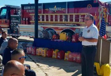 Bomberos recibe nuevos equipos para responder a emergencias