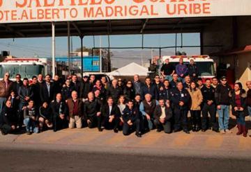 Celebran 36 años de Bomberos de Saltillo