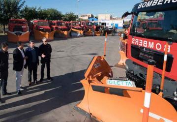 Bomberos de Castellón mejora con dos nuevas quitanieves