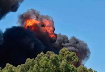 Incendio en fábrica dejó un muerto y tres heridos
