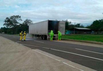 Bomberos atendieron derrame de químicos en Veraguas