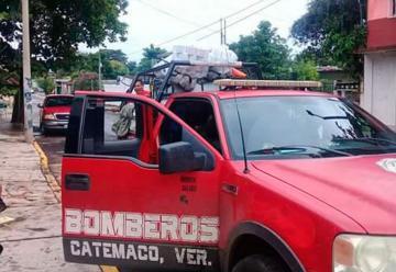 Cierra bomberos de Catemaco por falta de presupuesto
