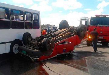 Muere capitán de bomberos de Miranda en accidente