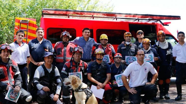Bomberos de la Provincia de Buenos Aires se capacitaron en Pilar