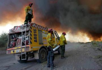 Se quemaron 130 mil hectáreas en Mendoza