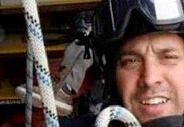 Murió un bombero cuando acudía al rescate de dos hombres