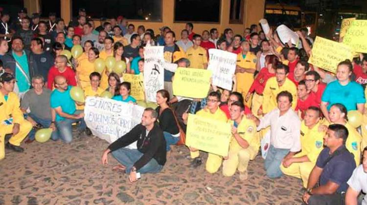 Reiteran denuncias por corrupción contra bomberos