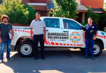 Nueva unidad para Bomberos Voluntarios de Arata