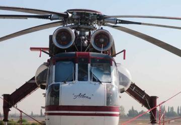 Presentan nuevo helicóptero para combate de incendios
