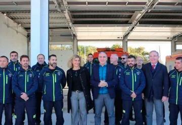 Inauguran el nuevo parque de bomberos de Nerja