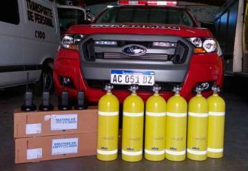 Bomberos Voluntarios incorporó nuevo equipamiento