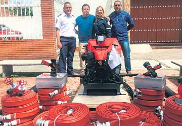 Entregaron dotación para los bomberos del Magdalena