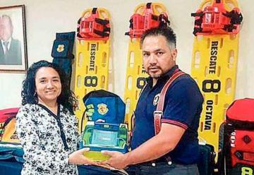 Nuevo equipamiento de emergencias para Bomberos de Antofagasta