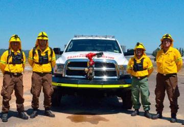Nuevos vehículos refuerzan combate de incendios forestales