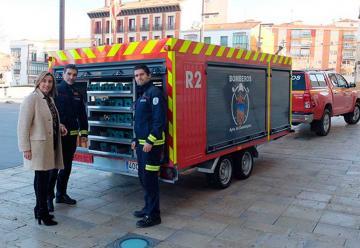 Nuevos vehículos para los bomberos de Guadalajara