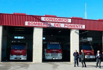 """Bomberos del Consorcio del Poniente dicen estar """"desesperados"""""""